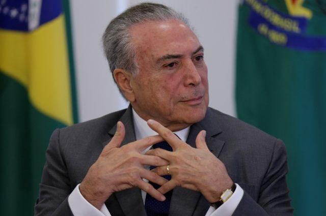 Шойгу анонсировал визит президента Бразилии в Москву в июне