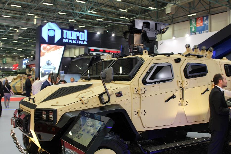 Турецкая бронетехника на выставке IDEF-2017. Часть 4: Nurol Makina
