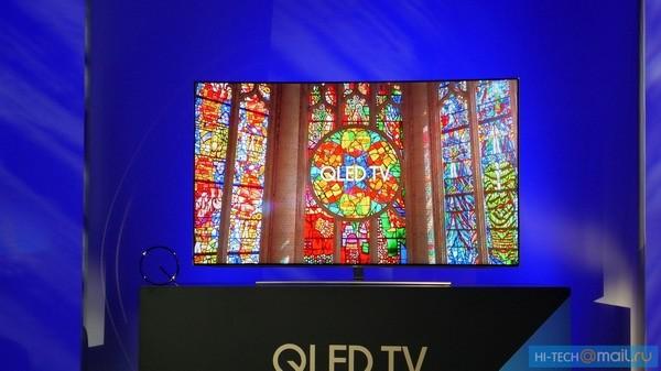 Телевизоры Samsung QLED уже продаются в России