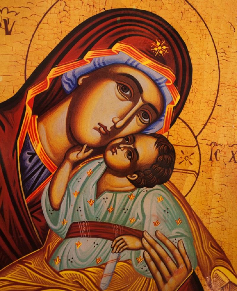 молитвы богородице читать