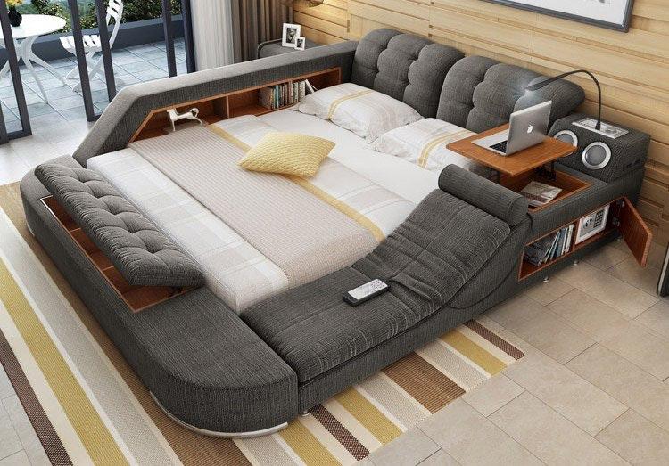 Утренняя радость: создана многофункциональная кровать, которую не хочется покидать