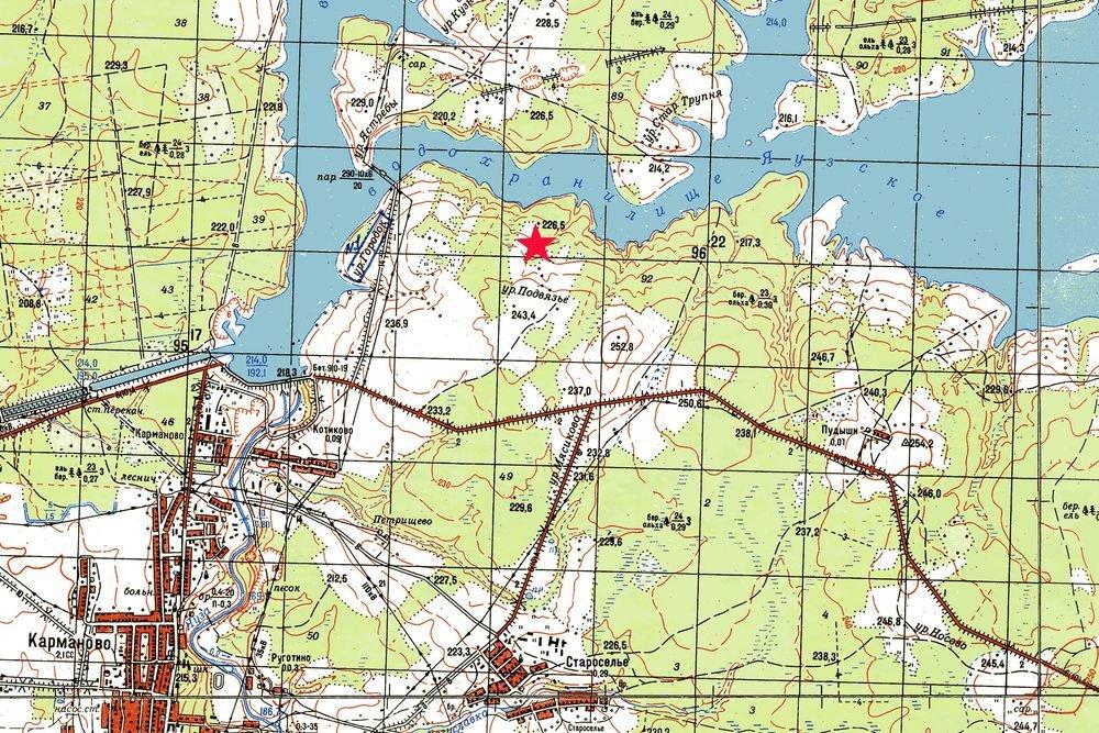 Места падения 11 боевых самолетов обследовали на берегах Вазузы и Яузы