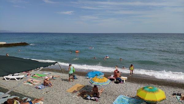 Шашлык на пляже в Крыму. Как…