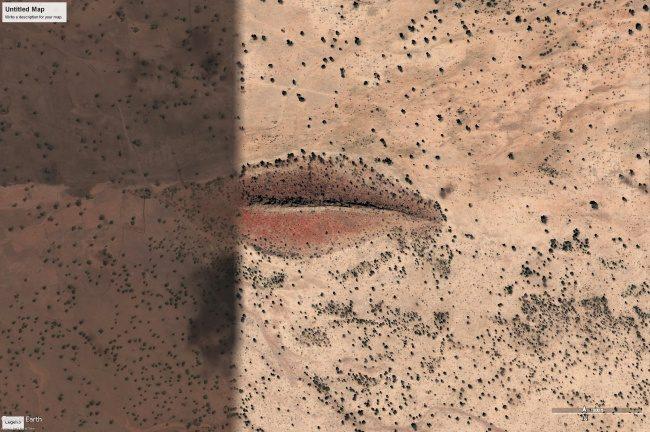 Коллекция самых мистических снимков, сделанных Google Earth
