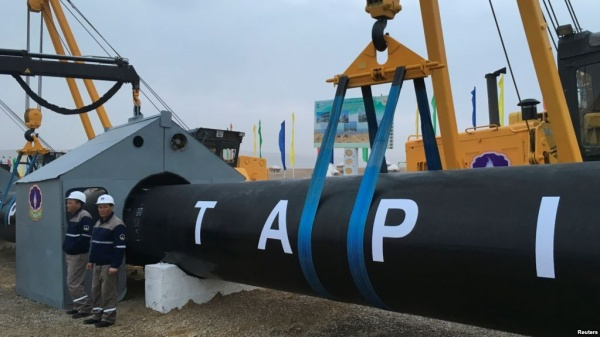 Газопровод изИрана вИндию могут непостроить из-за проблем безопасности