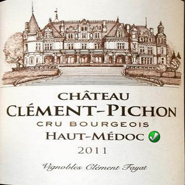 Картинки по запросу chateau clement pichon (futures pre-sale) 2015 red wine from france - bordeaux 750ml (12 bottles)