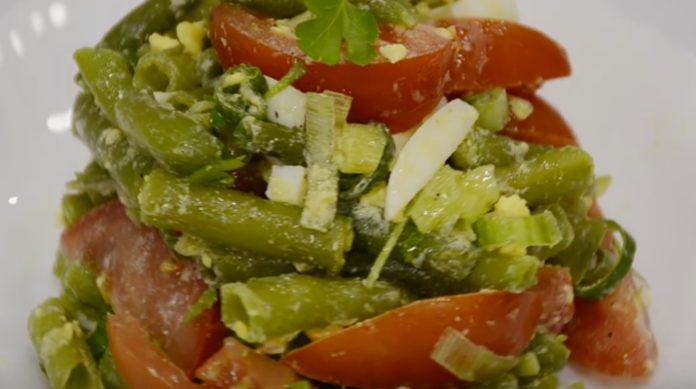 рецепт салата мюнхен с фасолью