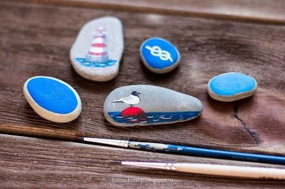 Идеи для росписи по камням