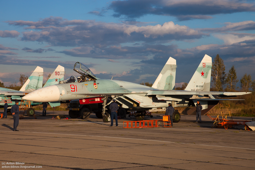 Восстановлен 689-й истребительный авиационный полк в Калининградской области