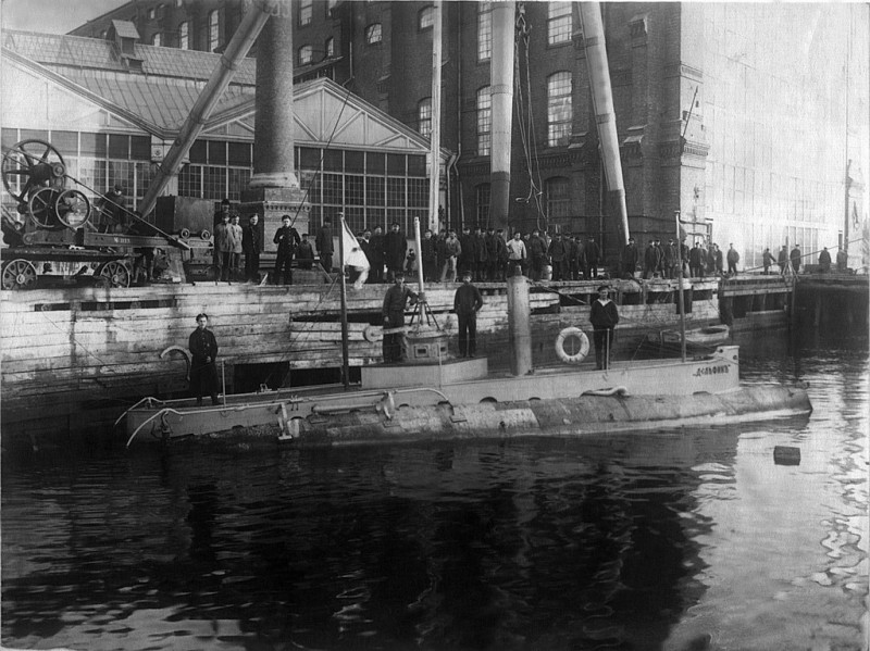 """""""Миноносец № 150"""" : первая подводная лодка в составе Российского императорского флота"""