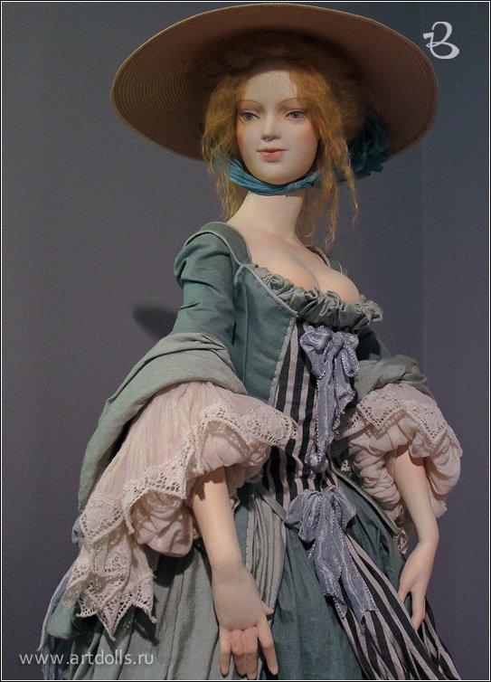 Авторские куколки из полимерной глины для вдохновения 8
