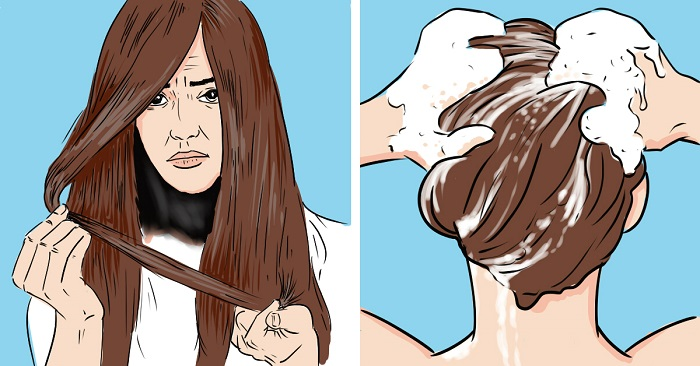 Рецепт маски для восстановления волос