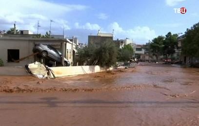 Жертвами наводнений в Греции стали 14 человек