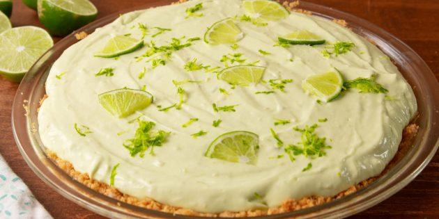 Рецепты чизкейков: Чизкейк-пирог с авокадо