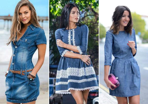 Стильно — модные джинсовые платья этого лета
