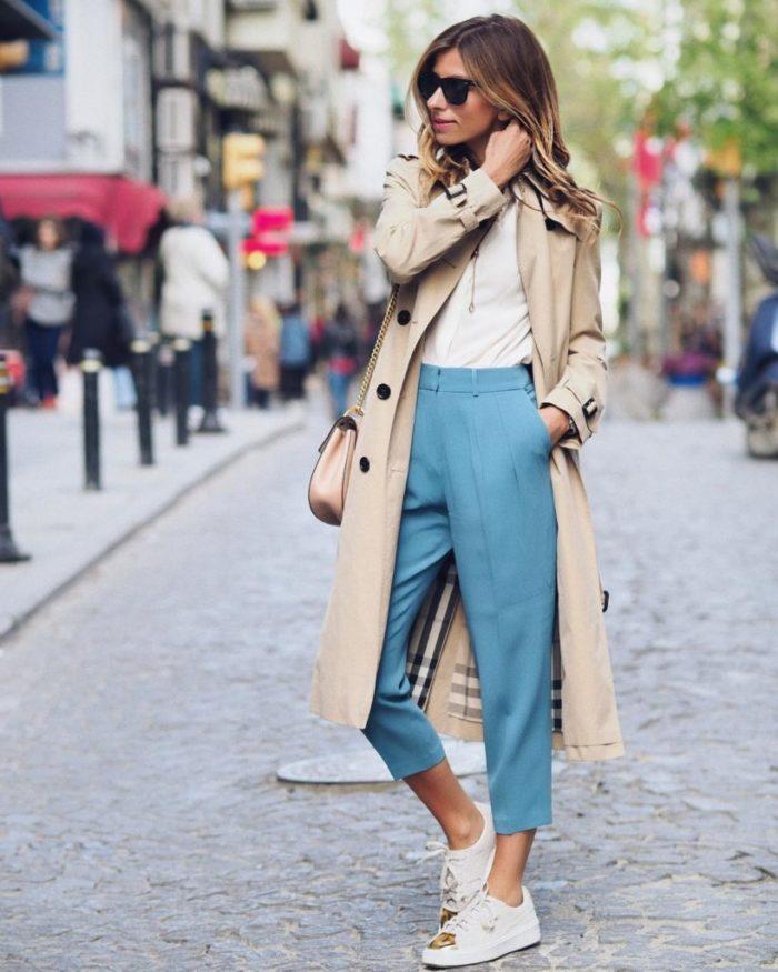 Модные летние брюки для женщ…