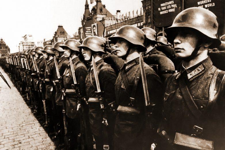 Сравнительные испытания советских и немецких стальных шлемов