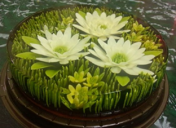 рецепт торта с желе и творогом