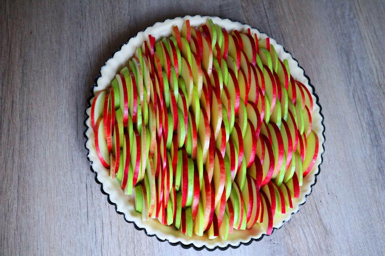 Яблочно-грушевый пирог. Мног…
