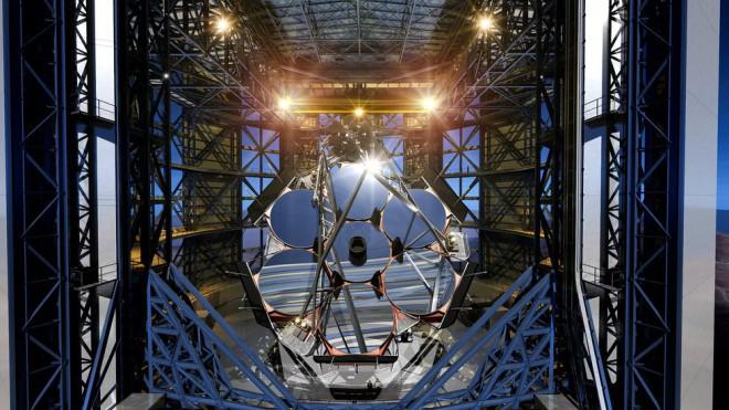 НЛО будут обнаружены новым американским телескопом невероятных размеров