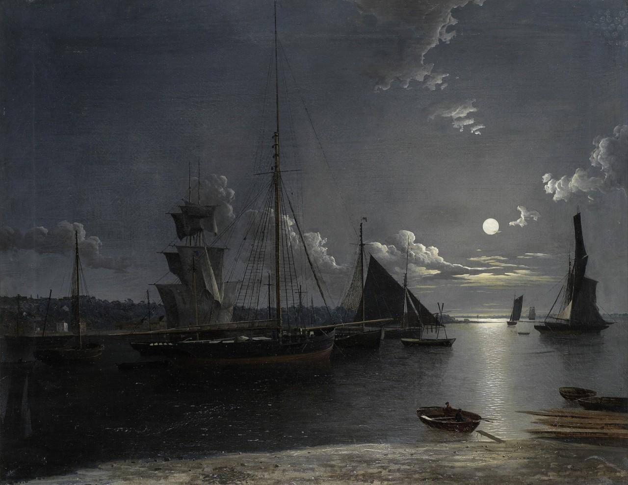 Из перламутра и агата, из задымленного стекла… Британский художник Henry Pether (1828 — 1865)