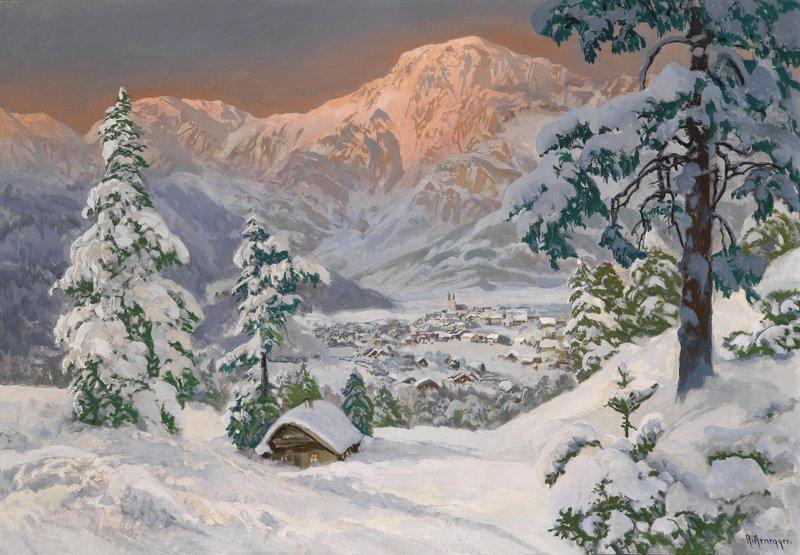 Австрийский мастер пейзажей Алоис Арнеггер