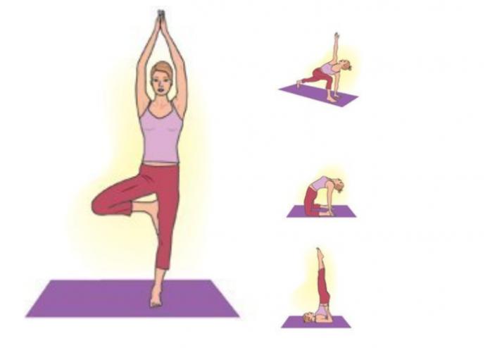 4 позы йоги, которые спасут от стресса и усталости