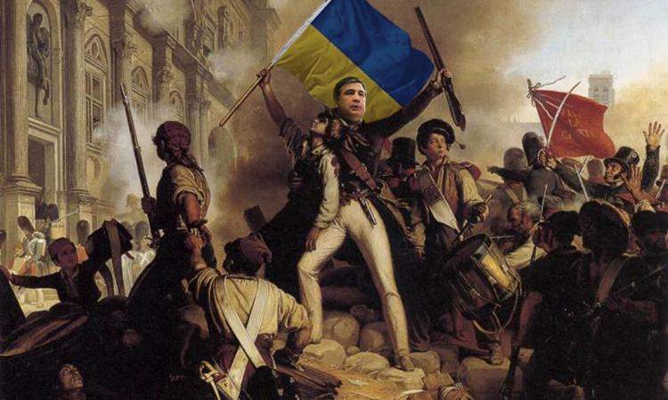 Саакашвили готовит революцию на Украине