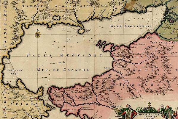 Меотида - место обитания амазонок. Азовское море