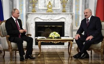 Встреча Путина и Лукашенко длилась дольше положенного