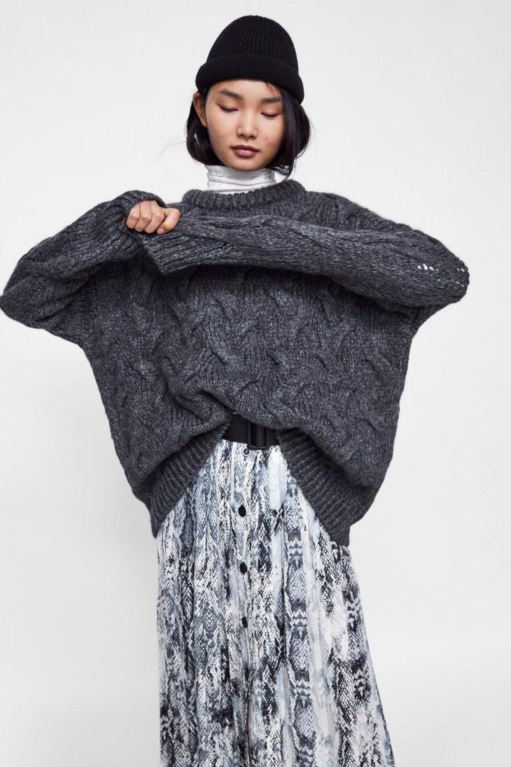 модные свитера оверсайз