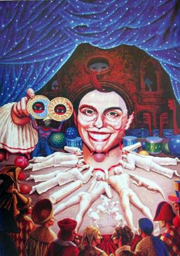 Картины художника Октавио Окампо 30