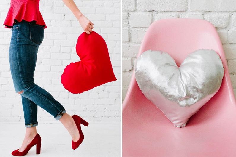 Подушка-сердце: мастер-класс ко Дню cвятого Валентина