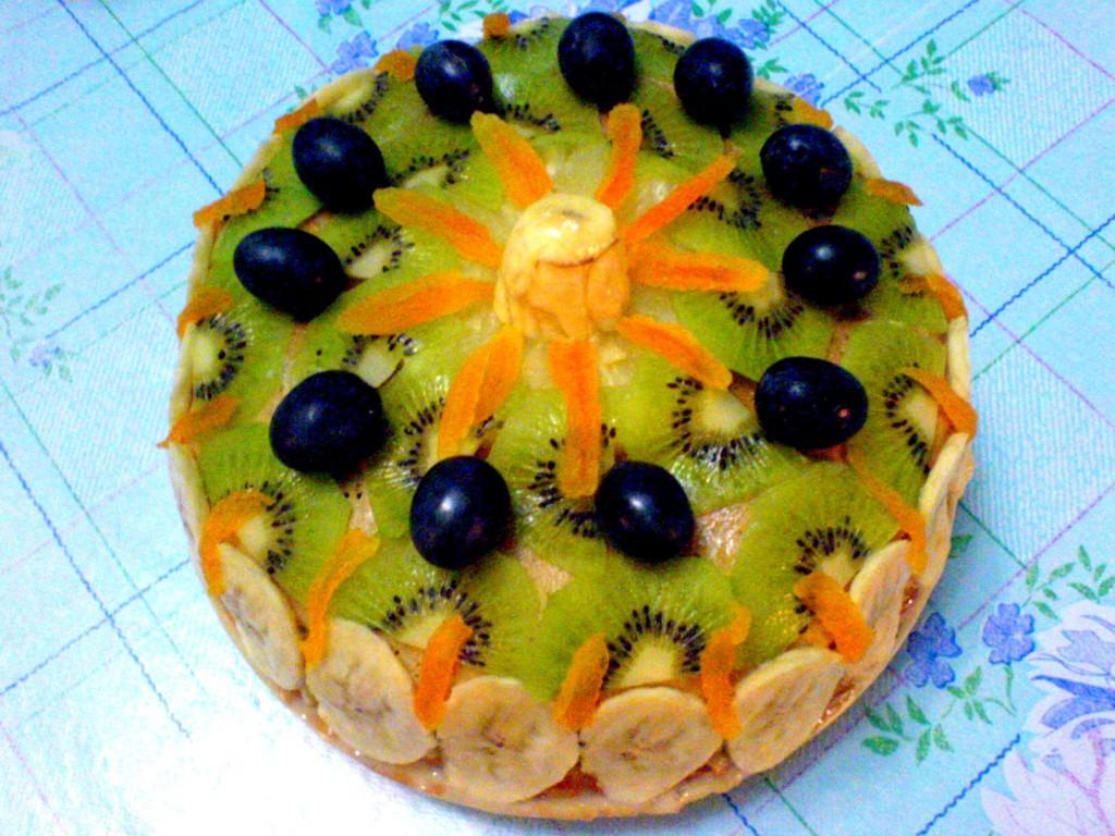 Украшение фруктами в домашних условиях с фото 18