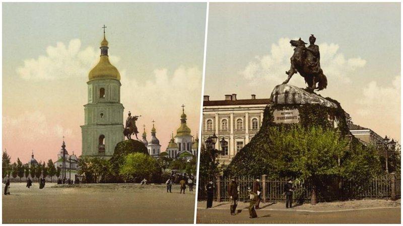 Уникальные цветные фотографии Киева 1890-1900 годов