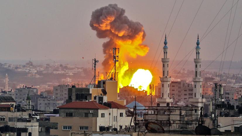«На краю пропасти»: Израиль нанёс авиаудары по объектам ХАМАС после гибели военнослужащего ЦАХАЛ