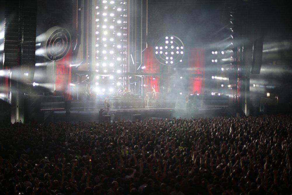 Концерт Rammstein в Москве