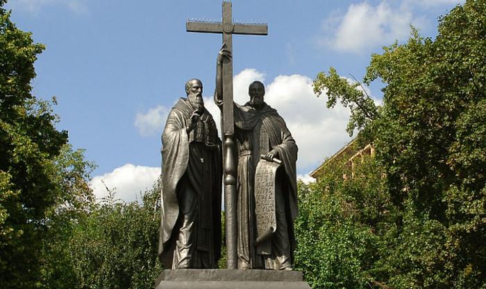 Равноапостольные Мефодий и Кирилл, учители Словенские