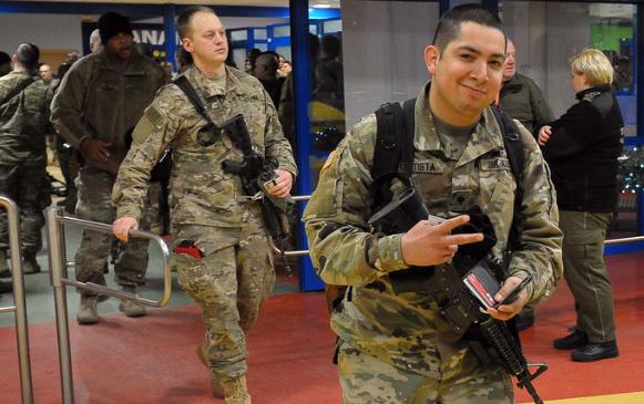 Американские солдаты могут и…