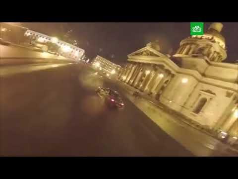 Исаакиевская площадь ночью располагает: Мажоры сняли на видео дрифт у Исаакиевского собора