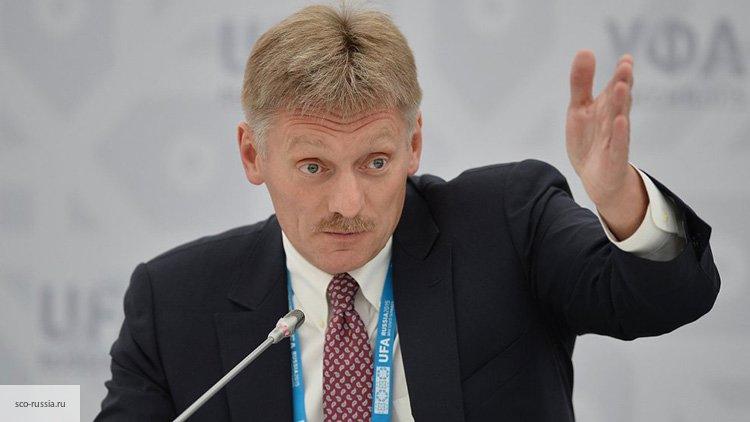 Песков прокомментировал поимку «разгласившего сведения» о Петрове и Боширове