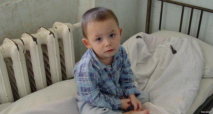 Маленький мальчик с недетской судьбой