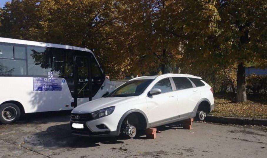 В Тольятти взяли банду охотников за дисками Vesta