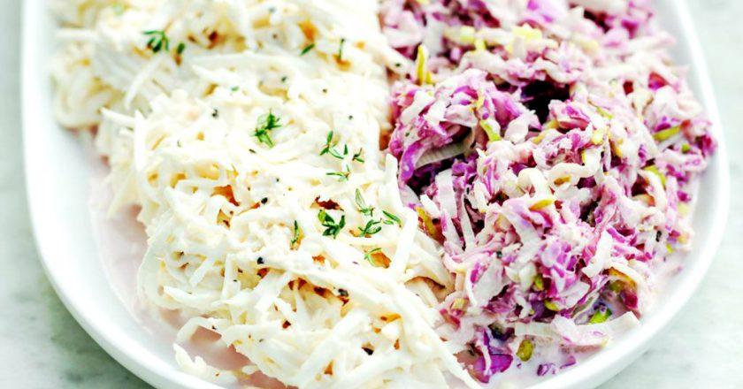 Весенний салат с сельдереем
