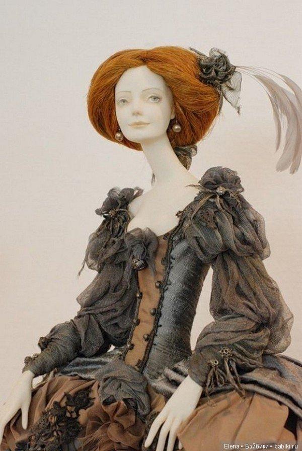 Авторские куколки из полимерной глины для вдохновения 3