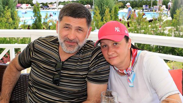 Сергей Пускепалис с женой ве…