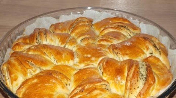 Часто готовлю по выходным: Чесночный хлеб «Солнце»
