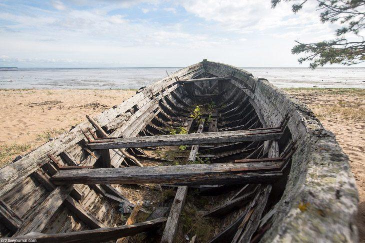 Из первых уст: Белое море, кладбище карбасов