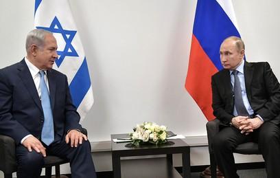 Путин и Нетаньяху обсудили безопасность на сирийско-израильской границе
