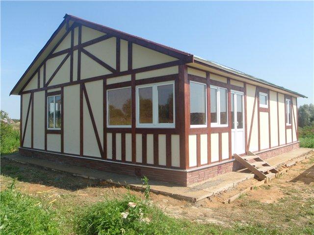 Построить дом 9 х 11 самостоятельно, за отпуск и выходные